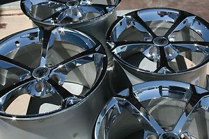 GM Chrome Grand Sport Corvette Wheels Rims 2006 2013 C6 Z06 ZO6 Size LS3 7
