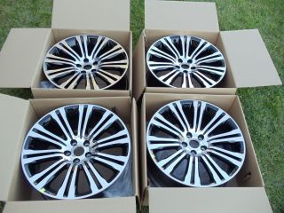 "20"" Chrysler 300S Factory 2013 Wheels Rims Black New 300 300C 20 inch SRT"