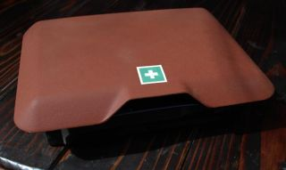 Mercedes W123 First Aid Kit Box Tray 300D 240D 300CD 280CE 280E RARE Red Color