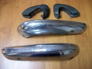 1972 Toyota Corolla TE 27 Chrome Rear Bumper Parts