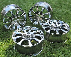 "4 New Chrome 18"" Cadillac cts Sedan Factory Wheels Rims 4672"