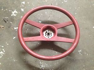 1976 1977 1978 1979 1980 Chevrolet Corvette Camaro Steering Wheel Red