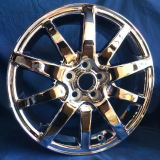 "17"" Jaguar s Type OE Chrome Wheels 4 New Rims 5x108"