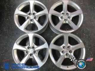 "Four 2013 Chevy Camaro Factory 20"" Silver Wheels Rims 5579 5581"