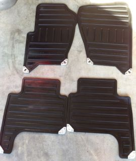 Land Rover Range Rover Sport All Weather Floor Mats Rubber Front Rear LQQK