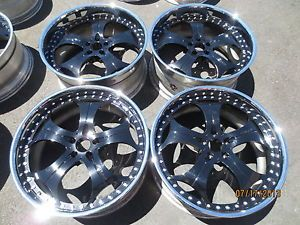 "22"" GFG 3 Piece Forged Wheels Bentley Continental GT GTC Flying Spur Audi A8 20"