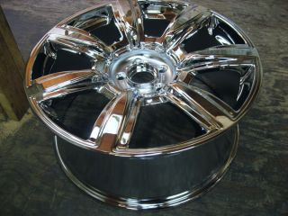 "Single 20"" Bentley Continental Flying Spur 7 Spoke Wheel Rim Chrome"