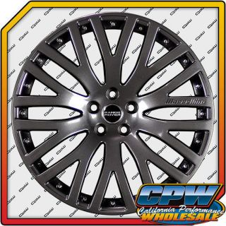 Range Rover Titanium Wheels Rims New Finish Kustom Marcellino