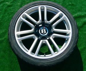 New Genuine Bentley Continental GTC Speed 80 11 Drophead Forged Wheels Tires