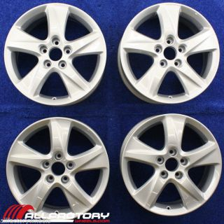 "Acura TSX 17"" 2009 2010 2011 2012 2013 Factory Set Rims Wheels Silver 71781"