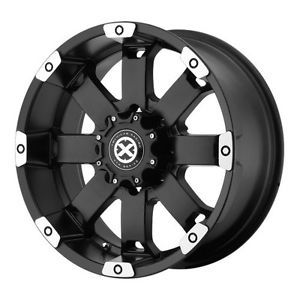 20 inch ATX Crawl Black Wheels Rim 5x5 5 Dodge RAM 1500