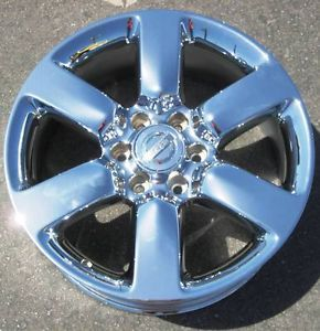 "Exchange Your Stock 4 New 20"" Factory Nissan Titan Armada Chrome Wheels Rims"