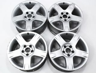 "Set of 4 17"" x 7 5"" Alloy Wheel Rims Audi Allroad Genuine OE 4Z7 601 025 C"