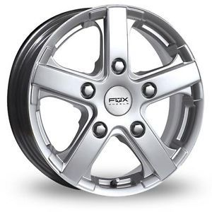 "16"" Fiat Ducato Maxi III Fox Racing Viper Van Alloy Wheels Only"