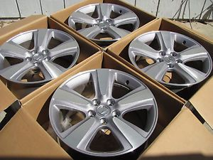 "4 2013 18"" Acura MDX Honda Odyssey Depax Wheels Pax Replacement 5x120"