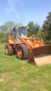 Fiat Allis Fr 140 2 Wheel Loader Tractor Rubber Tire Loader Cummins Diesel