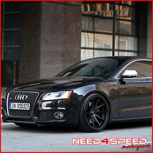 "20"" Audi B8 A5 Rohana RC10 Concave Black Wheels Rims"