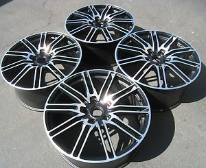 "22"" Wheels Set for Porsche Cayenne VW Touareg Audi Rims Caps 22 x 10 """
