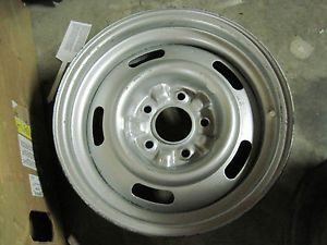 69 70 Camaro Chevelle Nova Corvette 15x7 Steel Rally Wheel FW Code