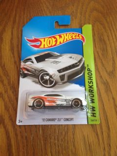 2014 Hot Wheels '12 Camaro ZL1 Concept H Case on US Card