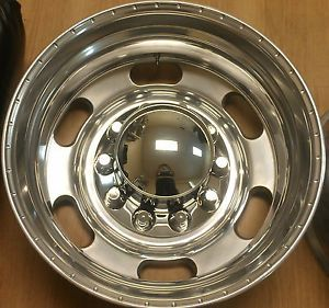 24 Dually Kenworth Mack 2013 Alcoa Wheels Semi Ford Dodge Chevy Rims