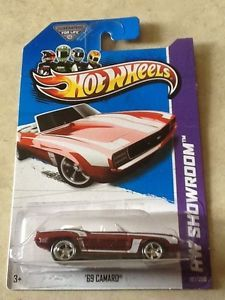 2013 Hot Wheels '69 Convertible Camaro Super Treasure Hunt