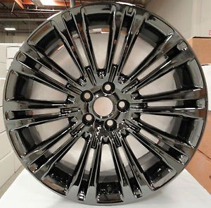 "4 New 20"" Chrysler 300 Wheels in PVD Black Chrome Outright Factory Rims"