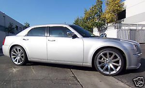 "22"" Chrysler 300C SRT8 Challenger Charger Magnum Tires Wheels Rims Set Package"