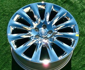 New 2011 2012 Genuine Chrysler 300C Factory Chrome 20 inch Wheels SRT8 SRT 8