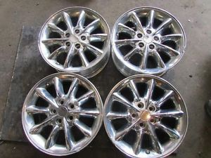 "03 04 Chrysler 300M Wheel 17x7 10 Spoke Chrome Rims 17"" inch Wheels Rims 18302"