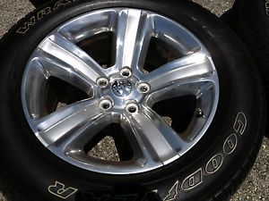 Dodge RAM 2013 20 inch Wheels Tires Rims Factory Polished New Edition for 13