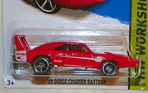 2014 Hot Wheels '69 Dodge Charger Daytona