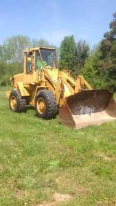 Fiat Allis FR10 Wheel Loader Tractor Rubber Tire Loader Cummins Diesel