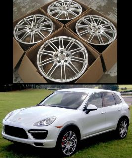 "20"" Wheels Rims for Porsche Cayenne s VW Touareg Audi Q7 Set of 4 Alloy Rims"
