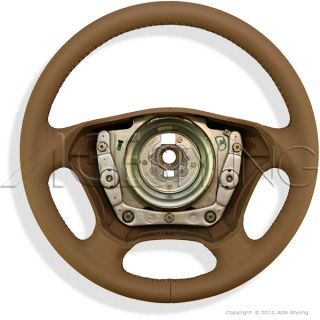 Mercedes Benz ml Class W163 Leather Steering Wheel A163 460 05 03 8H88 New