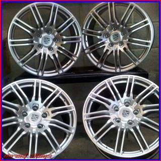 "20"" Porsche Turbo GT 9 Spoke Alloy Wheels 5x130 Porsche Cayenne"