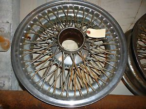 Jaguar XKE E Type Wire Wheel Nice Used Original