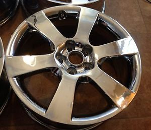 "18"" Hyundai Santa FE Chrome Wheels Rims 2007 2011"