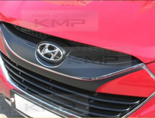 Radiator Grill Decals Stickers Matt Black for Hyundai 2010 2013 Tucson IX IX35