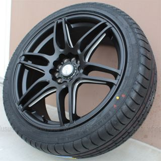 "18"" Niche NX6 5x108 Wheel Tire Pkg for Jaguar x Type Volvo C30 C70 T5 S40 S60"