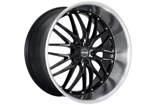 "19"" Lexus IS250 is350 MRR GT1 Black Wheels Rims"