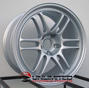 18x8 5 18x10 RPF1 Style Wheels Rims Fit Nissan 350Z