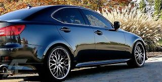 19 inch Lexus IS250 IS300 is350 Wheels Rims and Tires Riviera s Diamond Cut