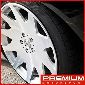 "20"" inch Wheels Nissan 350Z 370Z Maxima MRR HR3 Silver VIP Rims Wheels"