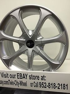 17 inch Silver Raceline Wheels Rims Scion IQ XA XB Toyota Prius C MR2 Eco