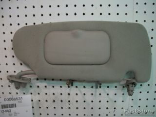 Dodge Dakota Pickup Truck Interior Sun Visor Sunvisor Right Passenger Side