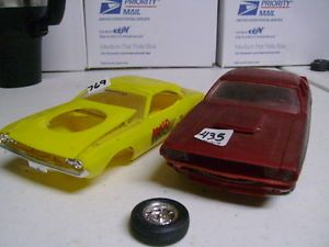Model Car Junkyard Mopar Dodge Challenger Pair Parts Project Lots 435 769