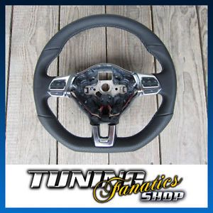 Original VW R R Line Multifunction Leather Steering Wheel VW Polo V 6R