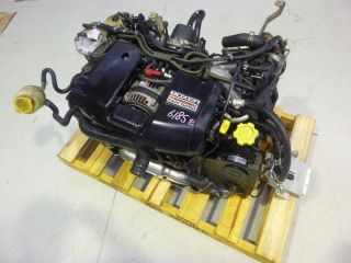 Subaru Legacy BH5 EJ20 Complete Twin Turbo Engine Motor ECU JDM
