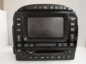 2006 Jaguar XJ8 Navigation Screen Display Climate Control CD Radio XJ 04 09